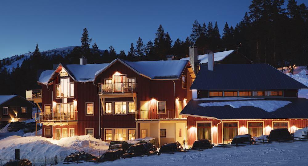 Konferens på Villa Björnrike i vinter